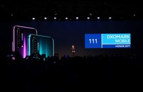 荣耀年度最强拍照手机荣耀20系列全球发布,DXOMARK全球第二高分
