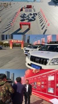 """中国联通""""匠心网络万里行""""活动抵连 5G闪耀滨城"""