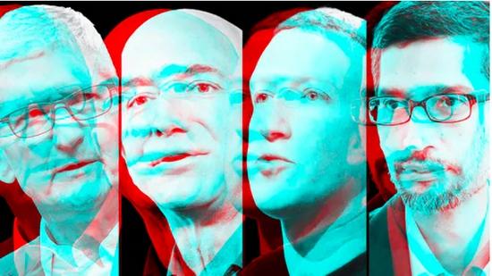 苹果亚马逊谷歌和Facebook至少面临70起反垄断调查与诉讼