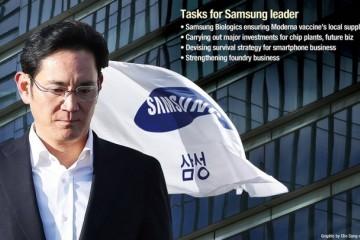掌门人李在镕获假释三星智能手机和芯片制造等方面挑战重重
